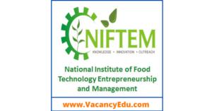SRF Position at NIFTEM