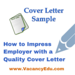 Postdoc Application Cover Letter Template