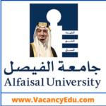 Faculty Position at Alfaisal University, Riyadh, Saudi Arabia