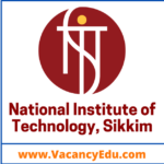 Faculty Recruitment 2021 at NIT Sikkim India