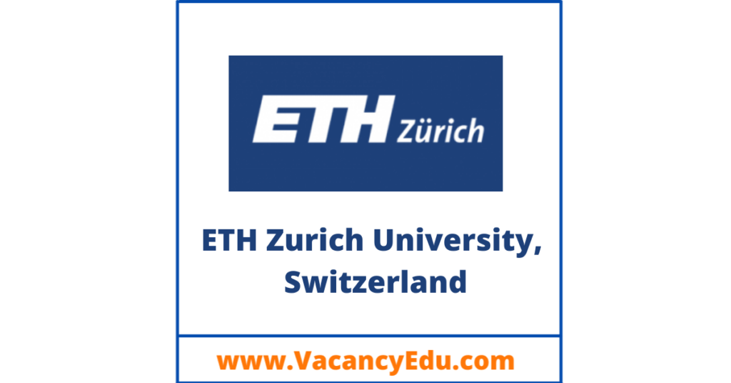 how to apply for eth zurich