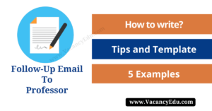 Polite Follow-Up Email to Professor : When and How You should Write