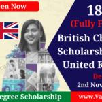 British Chevening Scholarships 2022 UK   Fully Funded