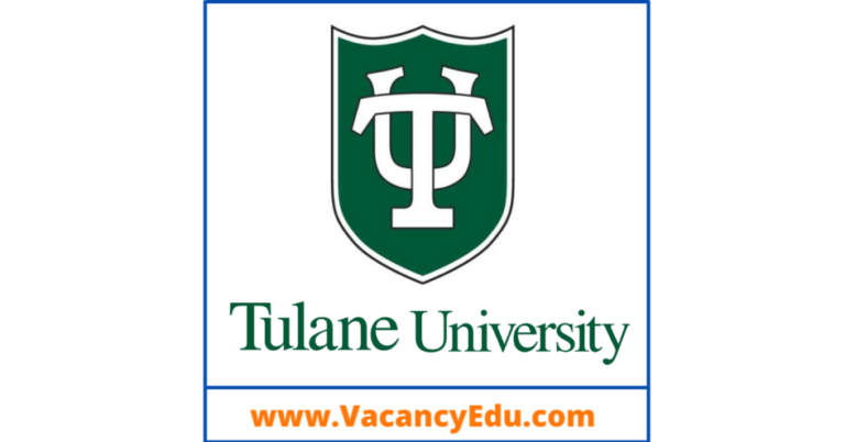 Postdoctoral Fellowship at Tulane University, Louisiana, USA
