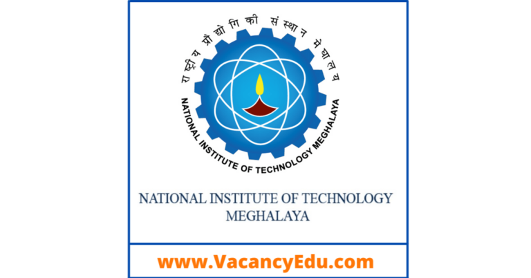 Junior Research Fellow (JRF) Position at NIT, Meghalaya, India