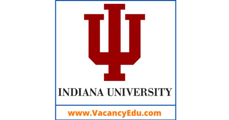 Postdoctoral Fellowship at Indiana University (IU), Bloomington, USA
