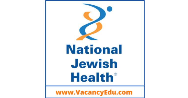 Postdoctoral Fellowship at National Jewish Health, Denver, USA